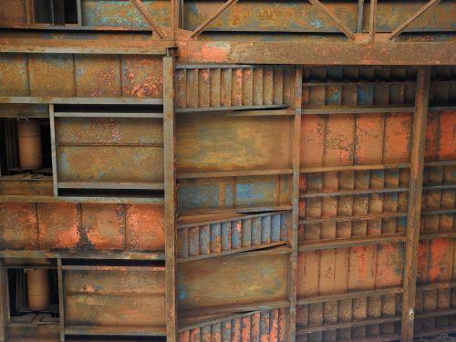 iron industrial rust