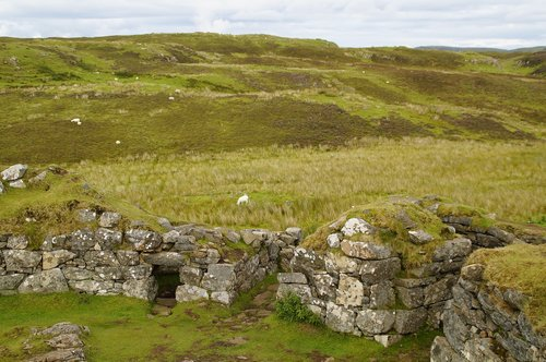 iron age  scotland  isle of skye