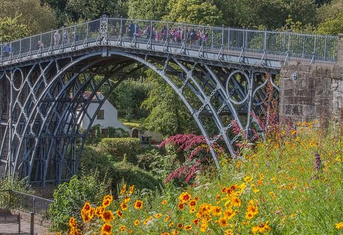 ironbridge  architecture  bridge