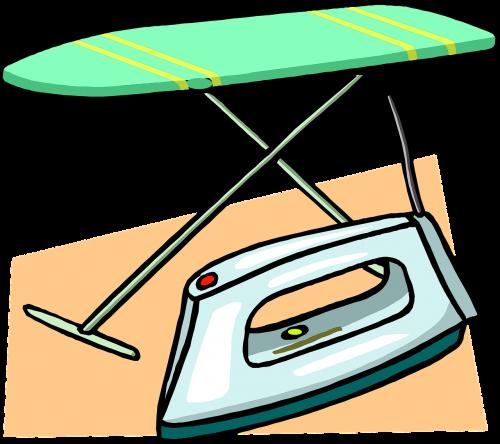 ironing board iron