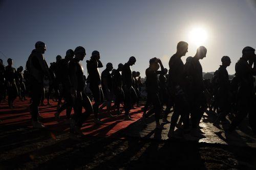 ironman start race
