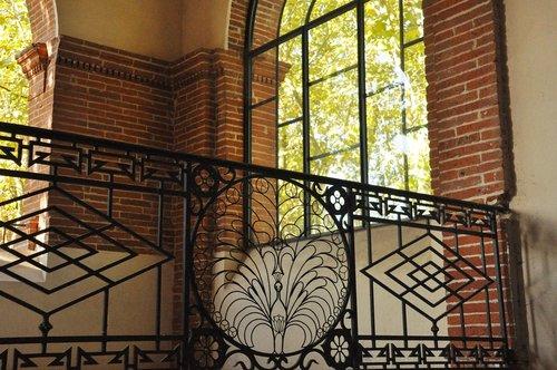 ironwork  ramp  heritage