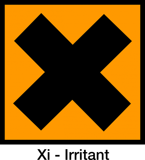 irritant harmful symbol