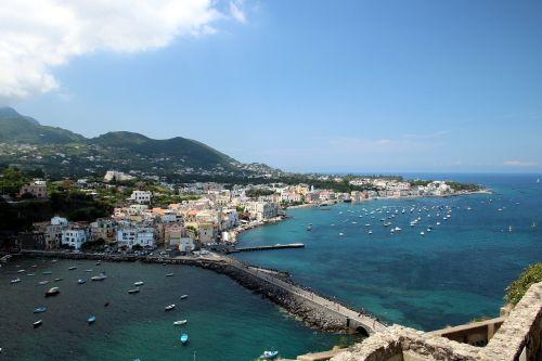ischia italy mediterranean sea