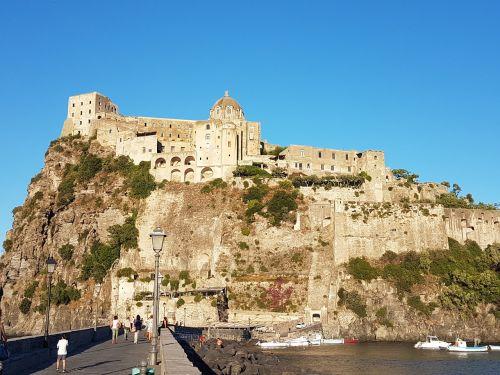 ischia aragonese castle islands