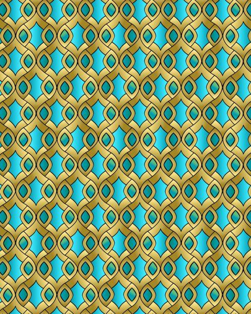 Islamic Abstract Seamless Pattern