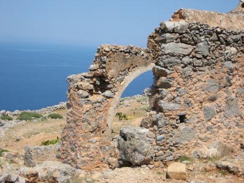 island crete sea