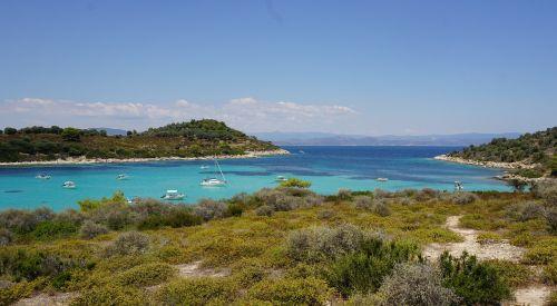 island diaporos blue lagoon