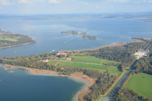 island  lake  landscape