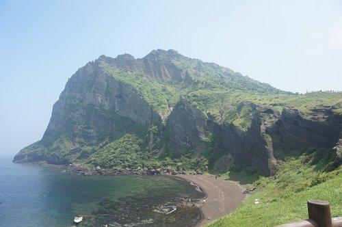 island  jeju island  landscape