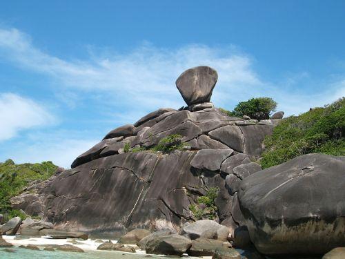 island thailand megalithic