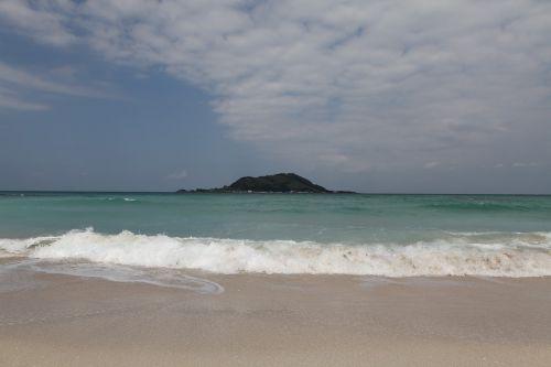 island sea beach