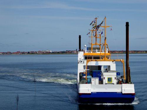 island of juist ferry crossing