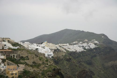 Island Of Santorini Blue Church