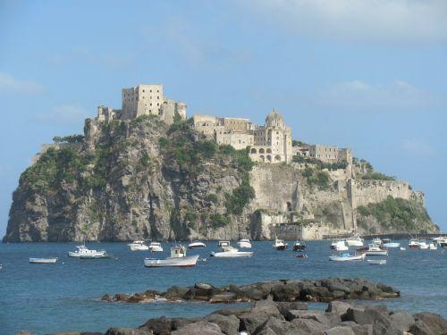 isle ischia castle
