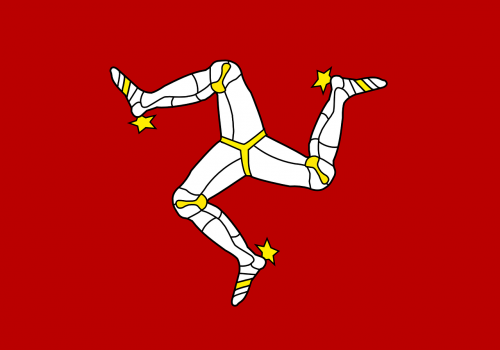 isle of man,flag,legs,official,self-governing,sign,symbol,political,free vector graphics