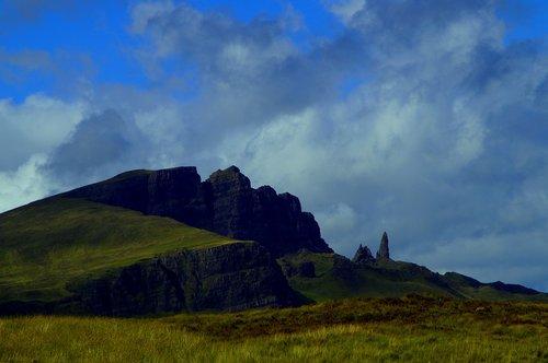 isle of skye  scotland  landscape