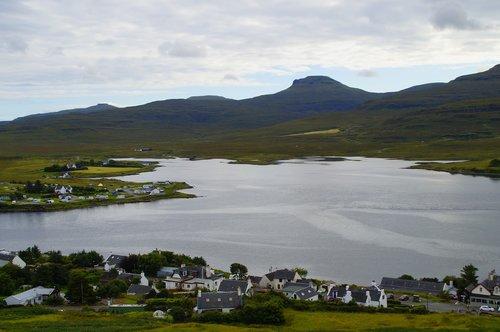 isle of skye  skye  village