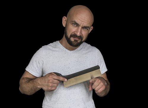 isolated  carpenter  board