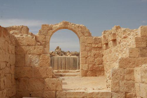 israel avdat gate