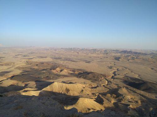 israel endless desert