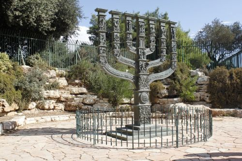 israel jerusalem menorah