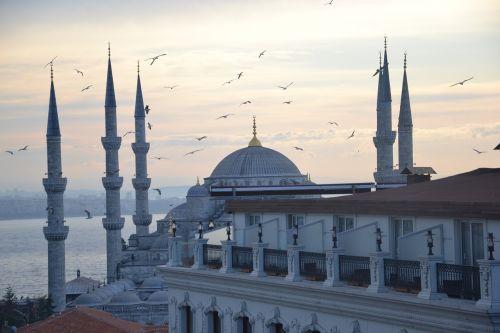 istanbul blue mosque turkey
