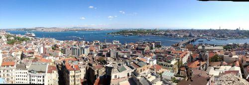 istanbul panorama bosphorus