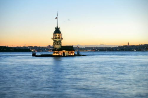 istanbul maiden's tower asia