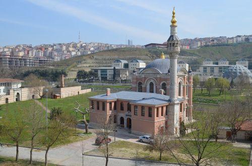 istanbul estuary cami