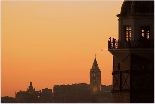 istanbul girl tower