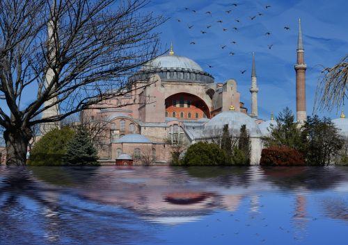 istanbul hagia sophia sultanahmet