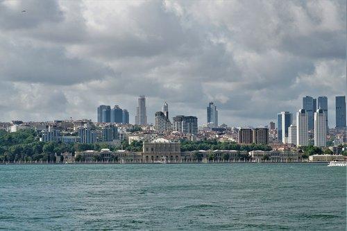 istanbul  view  bosphorus