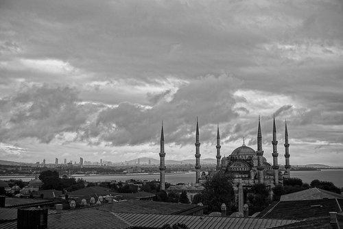 istanbul  blue mosque  sultan ahmet
