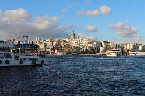 istanbul  estuary  marine