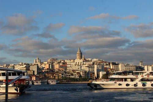 istanbul  turkey  landscape