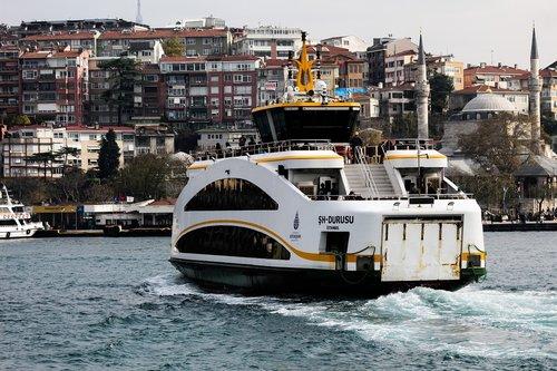 istanbul  bosphorus  the strait of istanbul