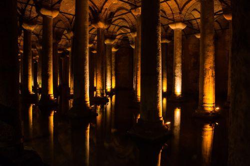 istanbul cistern basilica cistern