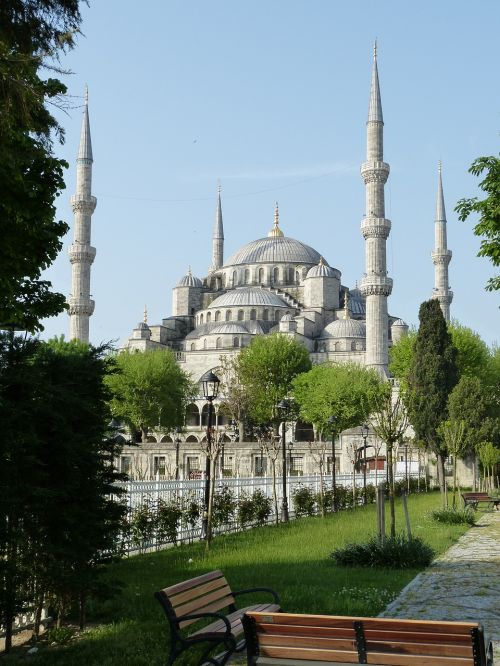 istanbul turkey mosque