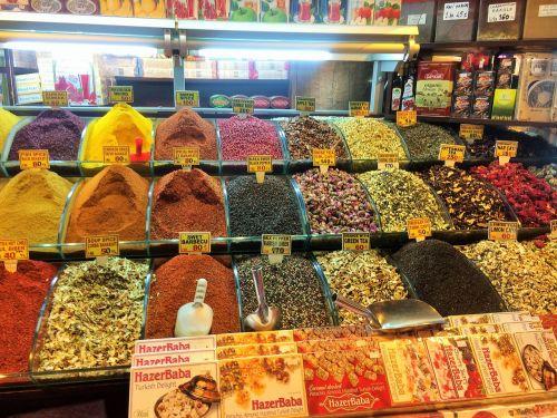 istanbul turkey spice market