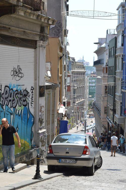 Istanbul, Karakoy Street