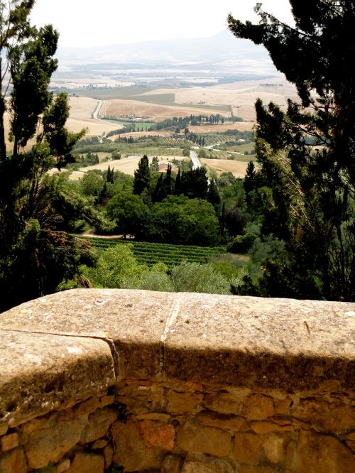 italian tuscany idyllic
