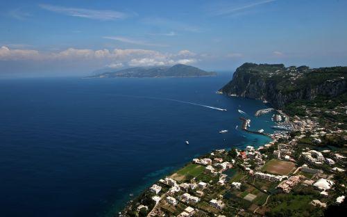 italy coast seascape