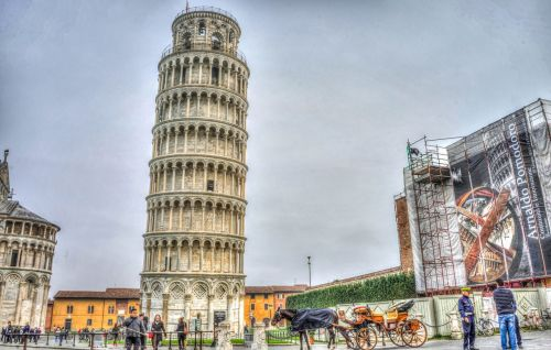 leaning tower of pisa italy tuscany