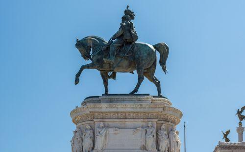 italy rome monument to vittorio emanuele ii