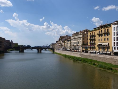 italy florence river