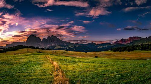 italy landscape scenic