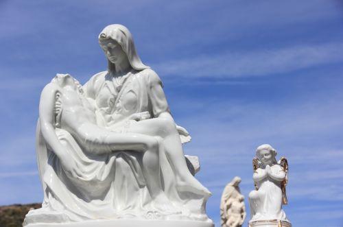 italy,sardinija,bosa,kapinės,statula,miręs,miręs