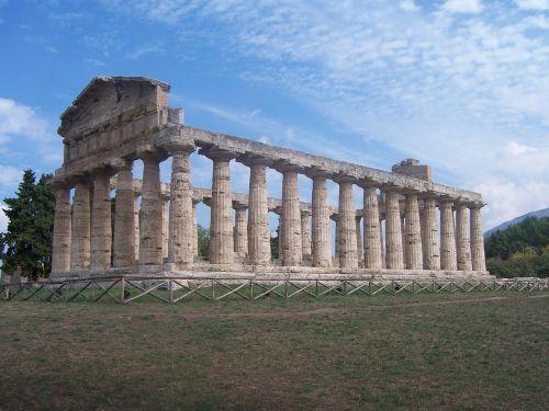 italy pompeii columnar
