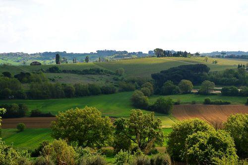 italy toscana landscape